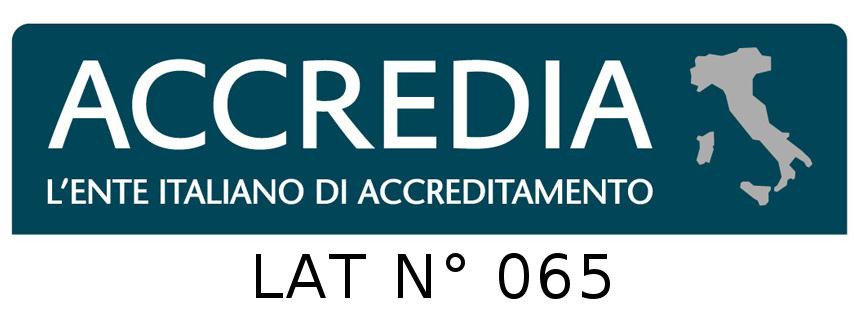 Logo Accredia LAT065